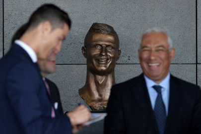 Portugal Airport Unveils Hideous Cristiano Ronaldo Statue and Twitter Reacts