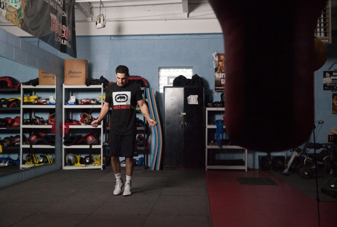 Undefeated WBC Welterweight Champ Danny Garcia Details Training Regimen Before Saturday's Title Fight