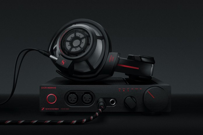 Dior Homme Teams up With Sennheiser for a Slick Lineup of Audio Equipment