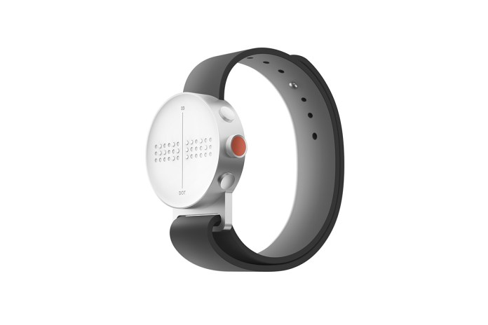 The Dot Watch Is a Braille Smartwatch Made for the Visually Impaired
