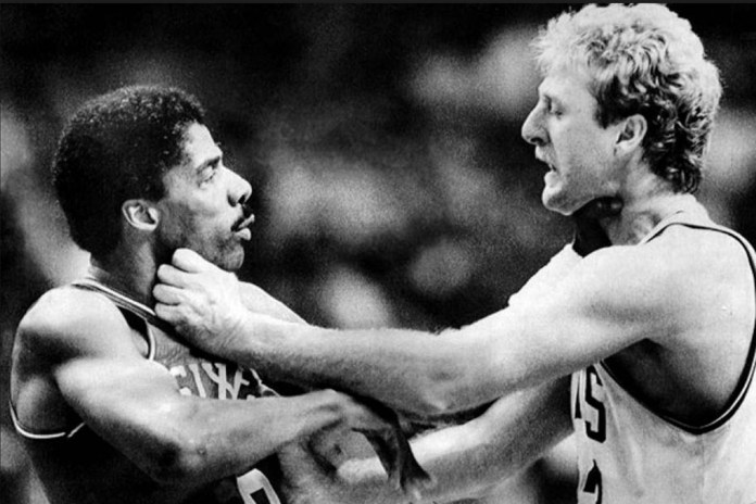 Dr. J Talks Fighting Larry Bird, Playing at Rucker Park, Joel Embiid and More