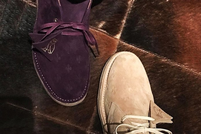 Drake Previews OVO x Clarks Desert Boots