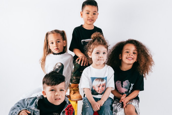 #hypebeastkids: Elevated Youth Lookbook Showcases Rare 1990s Child-Sized Band Tees
