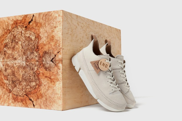 END. Puts a Maple-Inspired Spin on the Clarks Originals Trigenic Flex