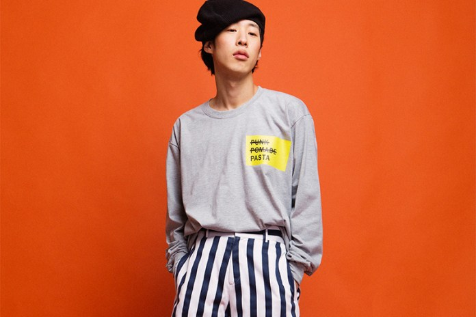 ENZO BLUES Drops Off Street Preppy 2017 Spring/Summer Collection