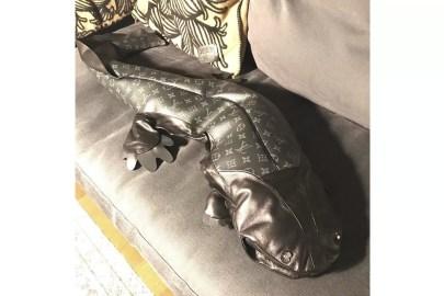 Hiroshi Fujiwara Previews fragment design x Louis Vuitton Giant Leather Salamander