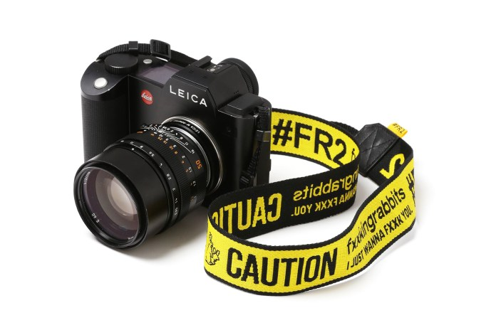 Fxxking Rabbits Creates a Vibrant Camera Strap for Hyped Photographers