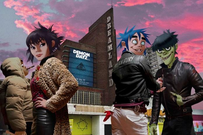 Gorillaz to Headline Their Own Demon Dayz Festival in the UK This Summer