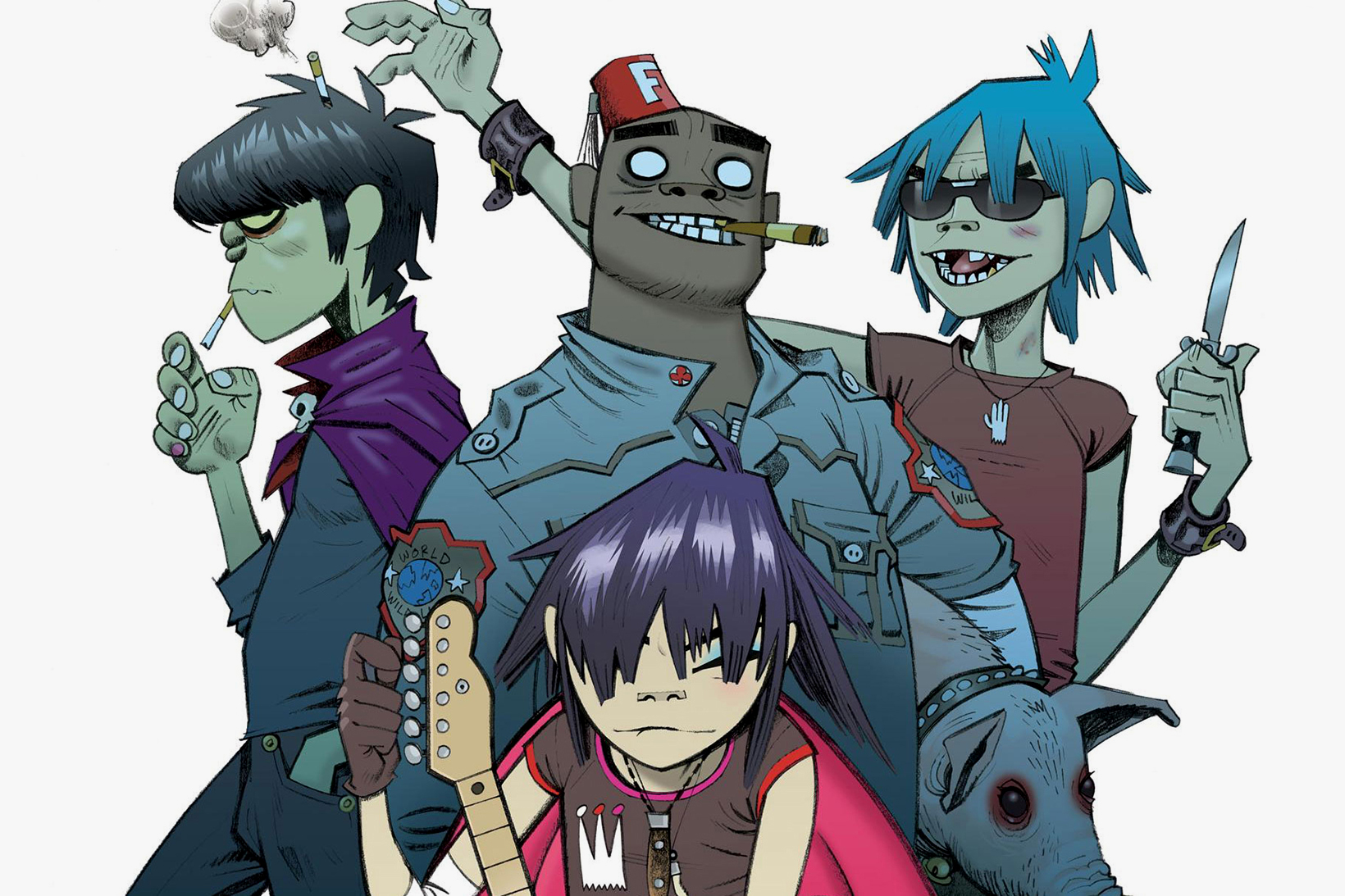 The Gorillaz - 3760557