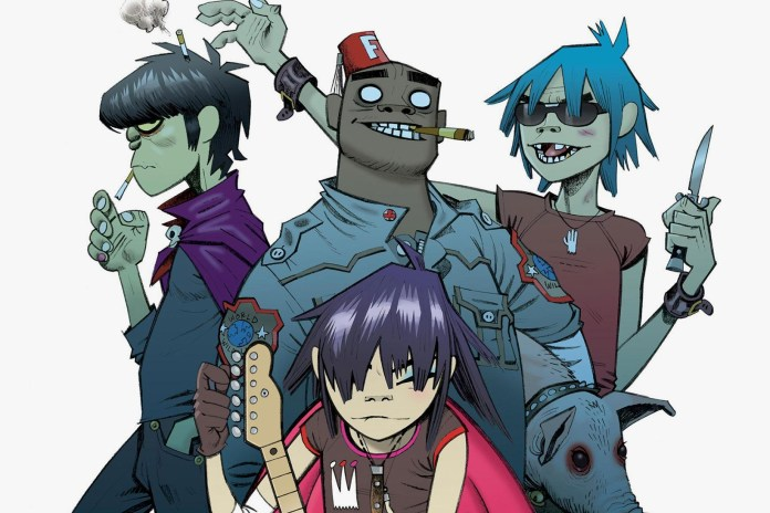 Gorillaz Set to Release New Song Tomorrow