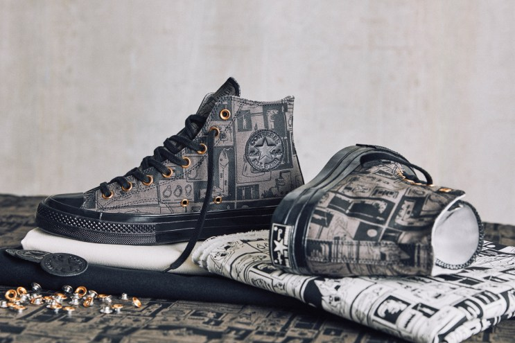 Grotesk x Converse Join Forces to Customize the Chuck Taylor All Star '70 High