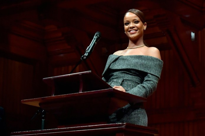 Harvard Gives Rihanna the Humanitarian of the Year Award