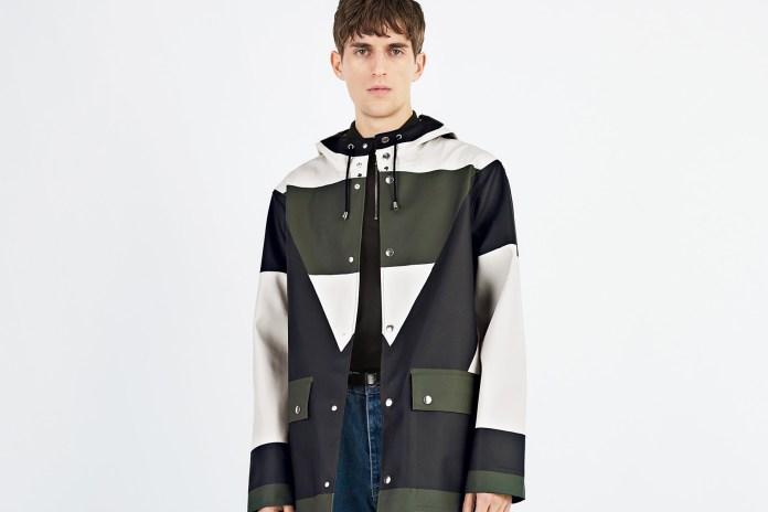 Henrik Vibskov & Stutterheim Team up to Create a Capsule Collection of Colorful Raincoats