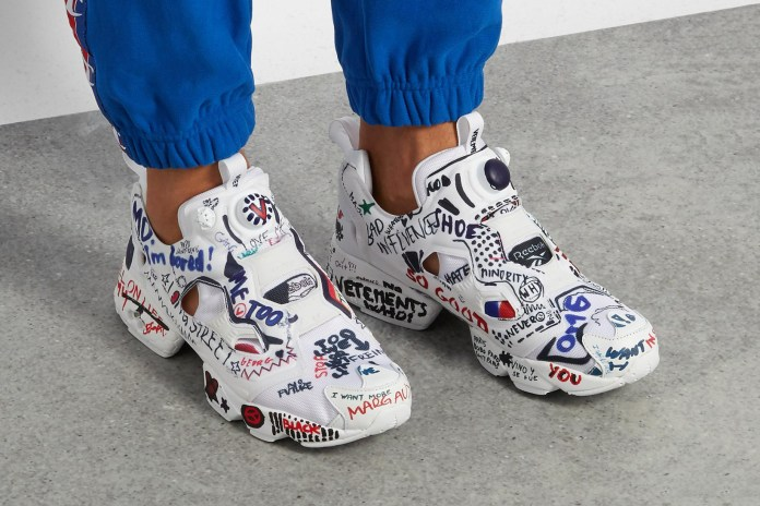 Why Are High Fashion Labels Obsessed With Scribbles?