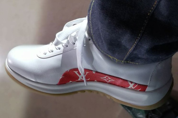 Hiroshi Fujiwara Gives Us First Look at the Supreme x Louis Vuitton Sneakers