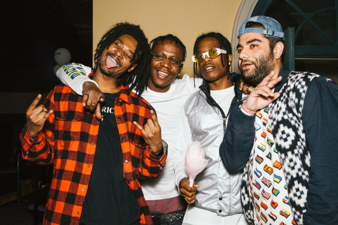 Here's What Happens When HYPEBEAST and the A$AP Mob Throw a Cozy Mansion Party at SXSW