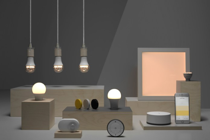 """Ikea Launches a New Series of Smart """"Connected"""" Home Lighting Products"""