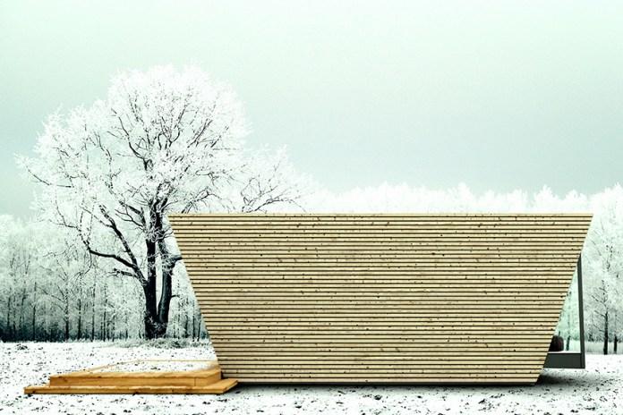 In-Tenta Envisions a Modular Eco-Hotel Room