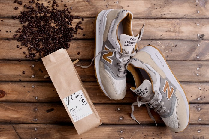 J.Crew and New Balance Team up on the Espresso-Inspired 997 Cortado