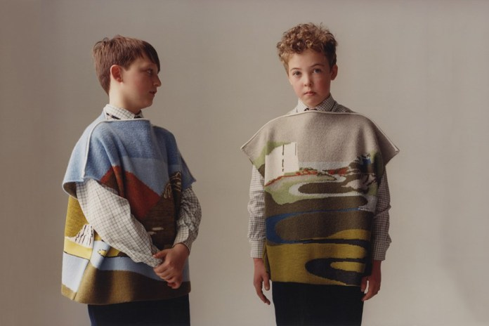 J.W.Anderson's Latest Models Are a Gaggle of British Schoolkids