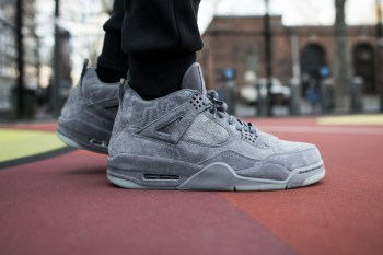 EXCLUSIVE: Here's Your Best Look Yet at the KAWS x Air Jordan 4