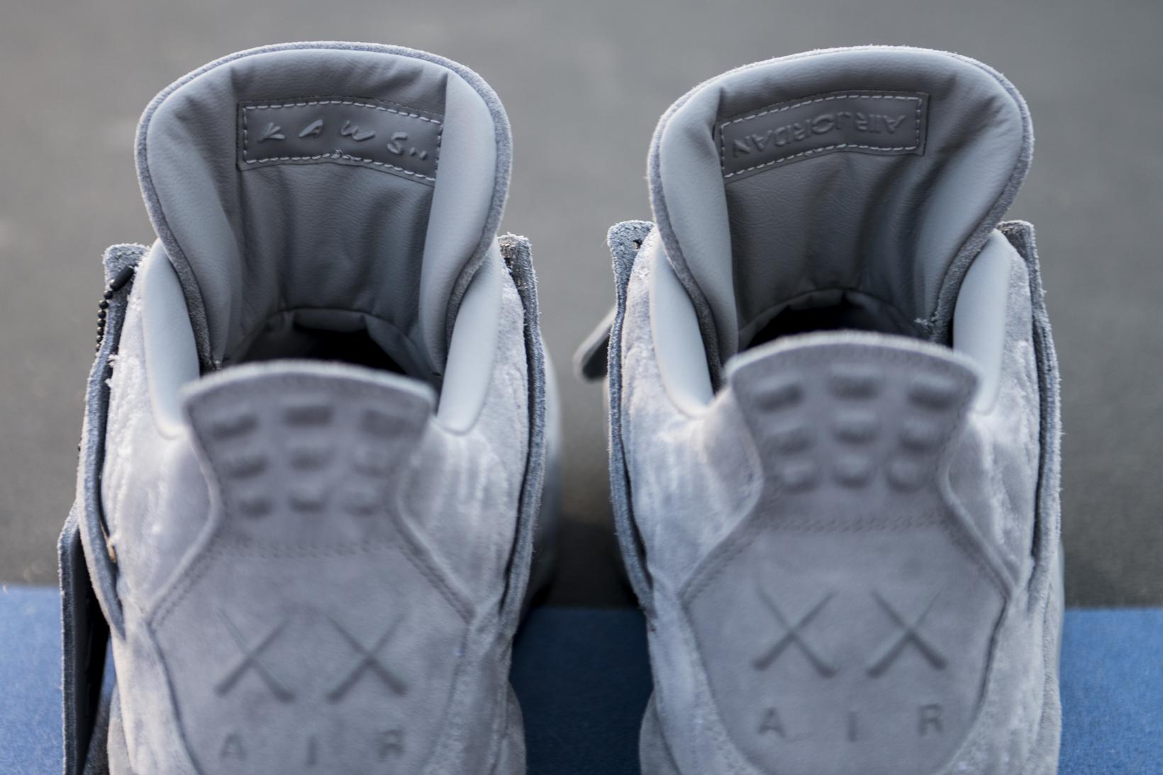 KAWS Air Jordan 4 Closer Look - 3748838