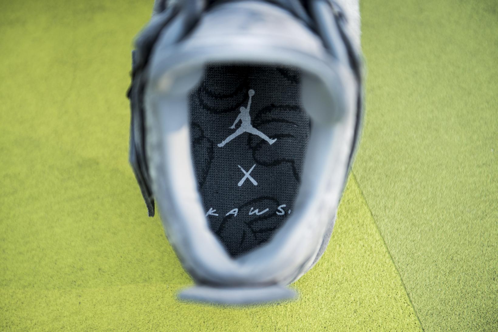 KAWS Air Jordan 4 Closer Look - 3749689