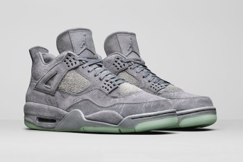 Official Images of the KAWS x Air Jordan 4 Surface