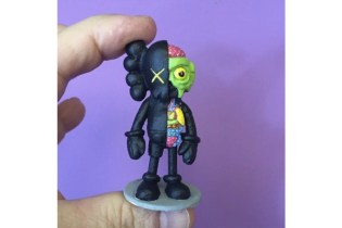 Watch a KAWS Companion Figure Get Constructed From a Peanut