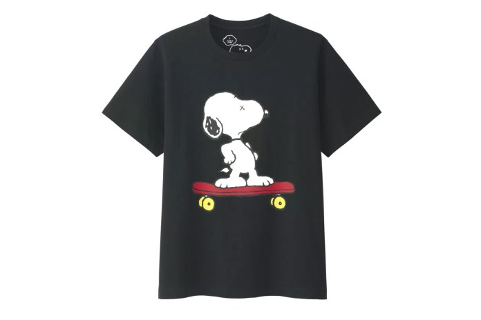 Here's a Complete Look at the KAWS x Peanuts Uniqlo UT T-Shirt and Plush Toys Collection