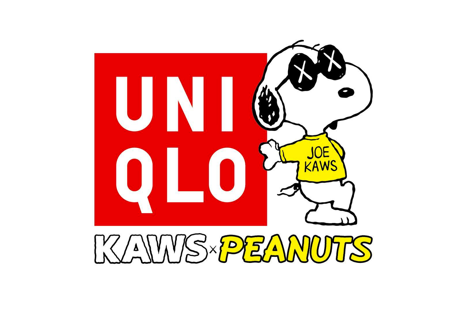 kaws peanuts uniqlo snoopy charlie brown comic - 3762397
