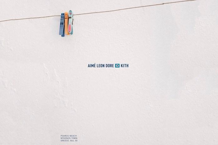 Ronnie Fieg Teases Aimé Leon Dore x KITH Collaboration