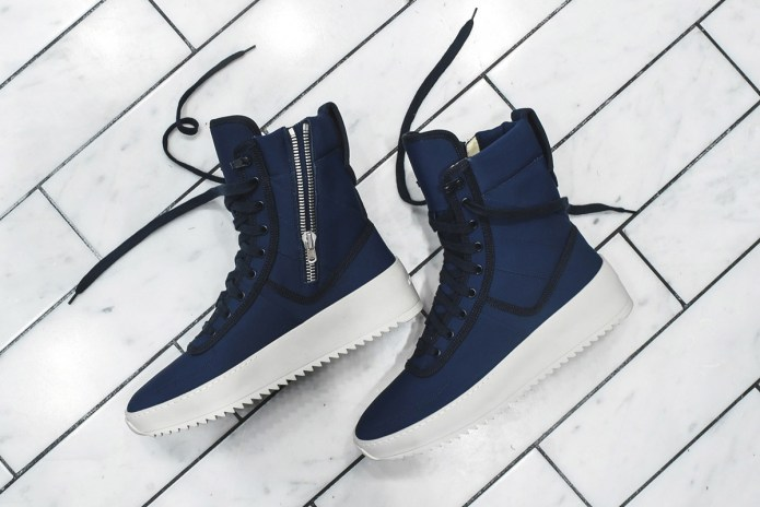 KITH & Fear of God Reveal Extremely Limited Military Sneaker