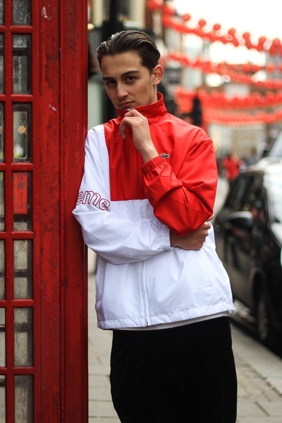 Lacoste x Supreme Red Jacket