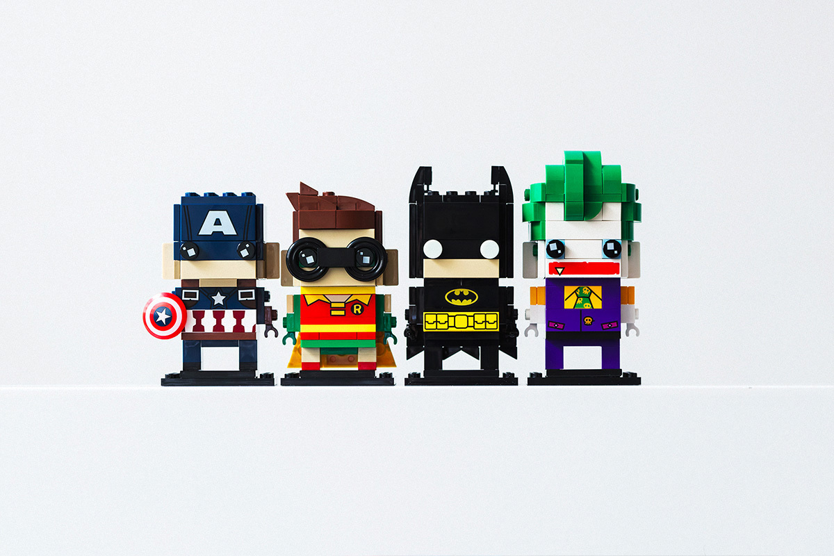 LEGO Brickheadz Collection Launch Batman Beauty And The Beast Pirates Of The Caribbean - 3754273