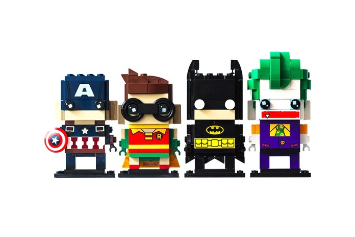 LEGO Launches a Movie-Inspired 'Brickheadz' Series
