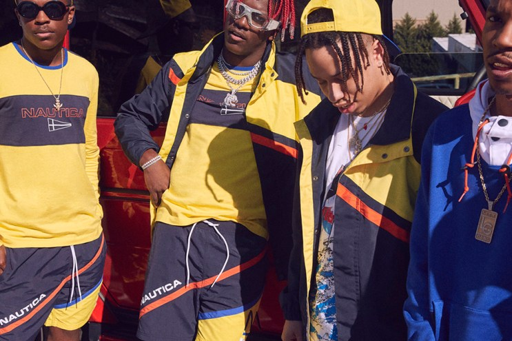 Lil Yachty and the Sailing Team Star in the Urban Outfitters X Nautica 2017 Spring Lookbook