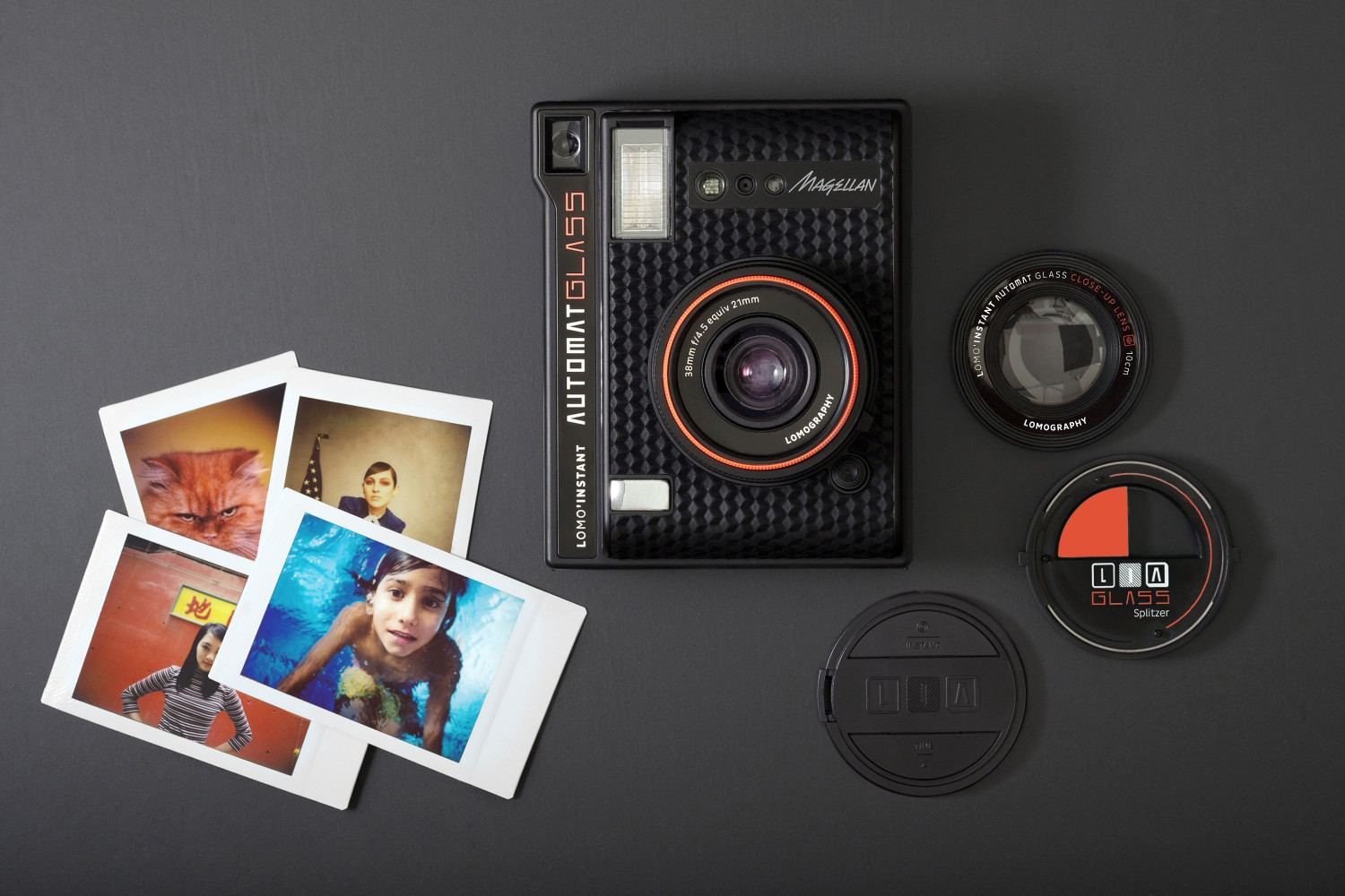 Lomography Wide Angle Lens Lomo'Instant Automat Glass Magellan - 3759988