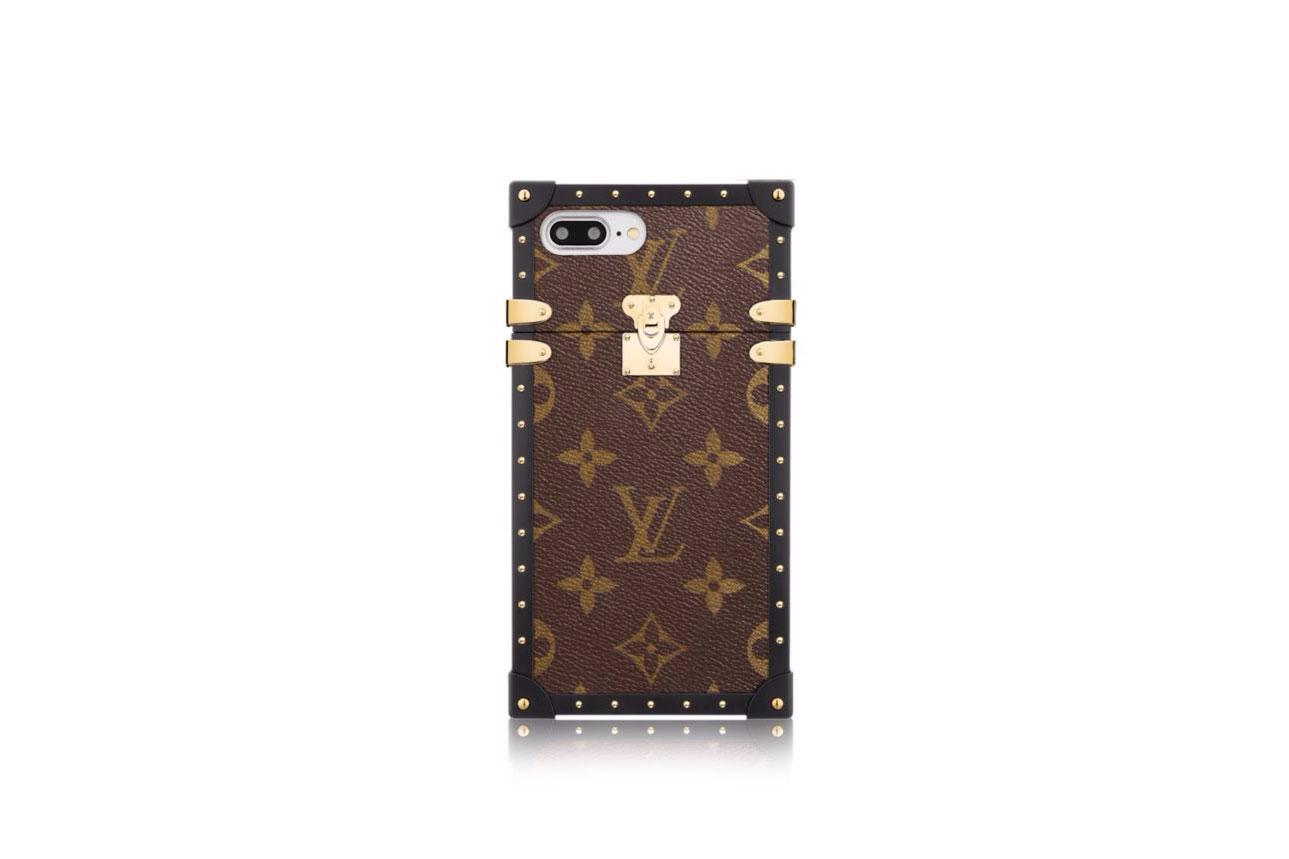 Louis Vuitton Eye-Trunk iPhone 7 Plus classic Monogram canvas case