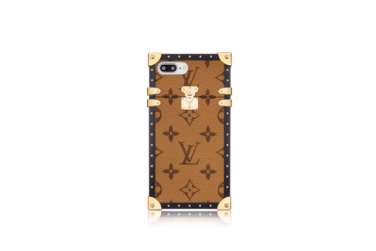 Louis Vuitton Eye-Trunk iPhone 7 Plus Monogram Reverse canvas case