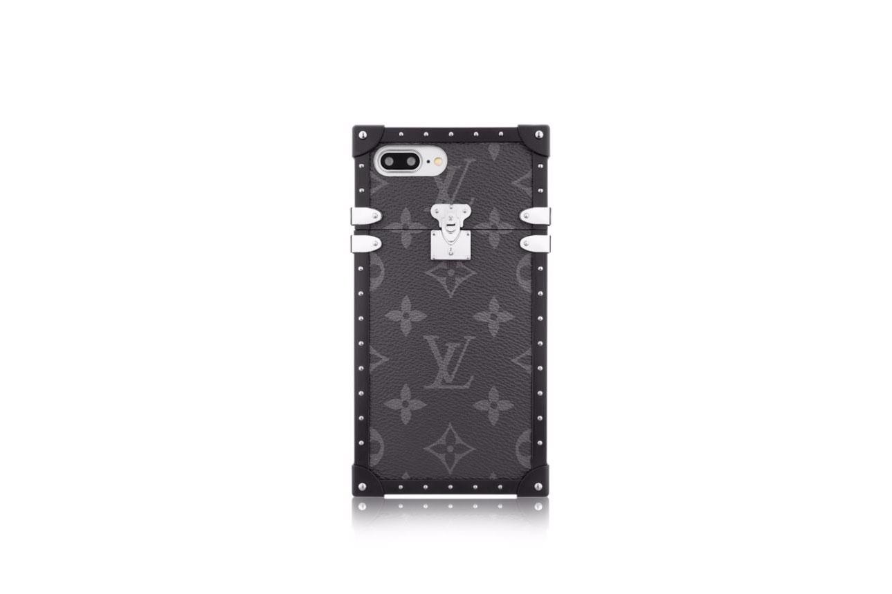 Louis Vuitton Eye-Trunk iPhone 7 Plus Monogram Eclipse canvas case