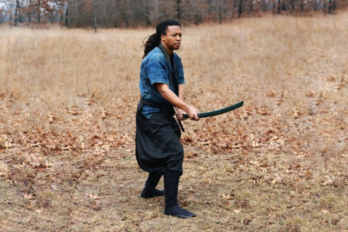 Watch Lupe Fiasco Demonstrate His Samurai Sword Skills