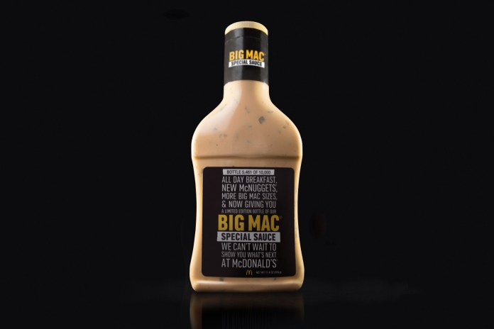 McDonald's to Sell Big Mac, McChicken and Filet-O-Fish Sauces