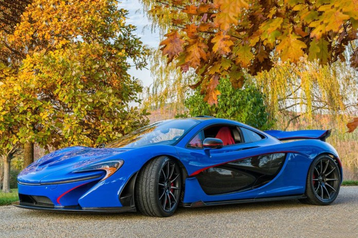 Rare McLaren P1 to Be Offered at Auction With No Reserve