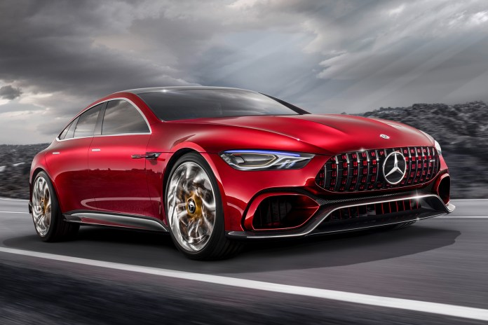 Mercedes-AMG Introduces a Four-Door GT Concept at the Geneva Motor Show