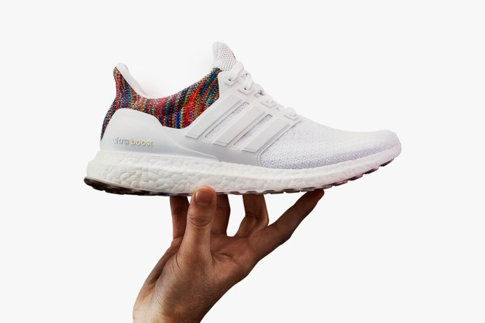 The miadidas UltraBOOST Will Launch Exclusively at the adidas NYC Flagship With Multicolor Heel