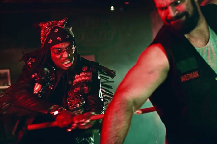 """Watch Migos Brawl With a Biker Gang in New Video for """"What The Price"""""""