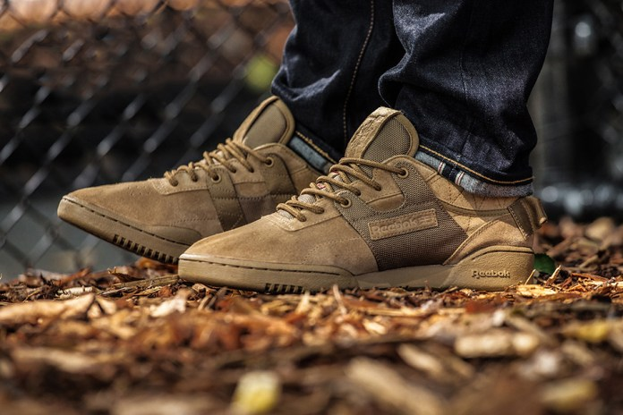mita sneakers Takes the Reebok Workout to Boot Camp