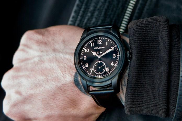 Montblanc Debuts Its Customizable Summit Smart Watch