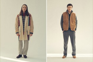 Needles 2017 Fall/Winter Lookbook Collection Channels the '70s
